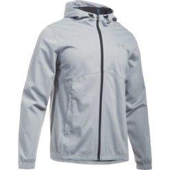 Under Armour Bluza Spring Swacket Fz True Gray Heather Black Silver. Brązowe bluzy męskie rozpinane Under Armour, m, z tkaniny. W wyprzedaży za 299,00 zł.