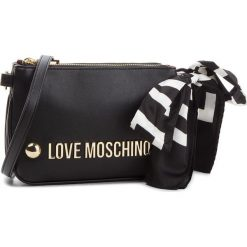 Torebka LOVE MOSCHINO - JC4308PP06KU0000  Nero. Czarne listonoszki damskie marki Love Moschino, ze skóry ekologicznej. W wyprzedaży za 579,00 zł.