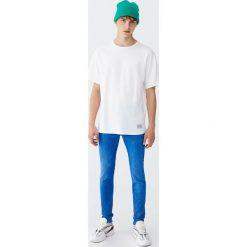 Jeansy skinny fit. Niebieskie jeansy męskie relaxed fit Pull&Bear. Za 109,00 zł.
