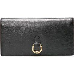 Lauren Ralph Lauren - Portfel skórzany. Czarne portfele damskie Lauren Ralph Lauren, z materiału. W wyprzedaży za 379,90 zł.
