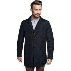 Płaszcz torino czarny. Brązowe płaszcze męskie marki Cropp, na zimę, l, sportowe. Za 429,00 zł.