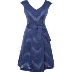 Sukienki hiszpanki: Sukienka w kolorze niebieskim