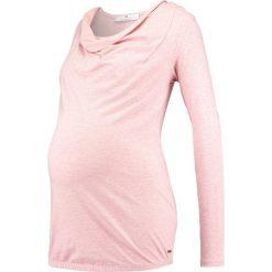 Bluzki asymetryczne: bellybutton STILL Bluzka z długim rękawem temple melange/rose