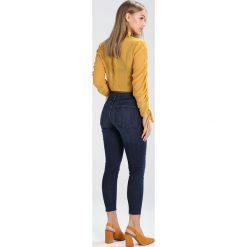 Boyfriendy damskie: Topshop Petite JAMIE Jeans Skinny Fit indigo