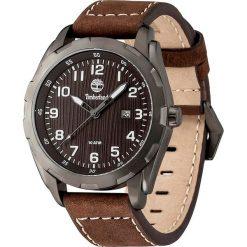 """Zegarki męskie: Zegarek kwarcowy """"Newmarket"""" w kolorze brązowo-antracytowo-czarnym"""