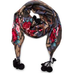 Chusta MY TWIN - Sciarpa VA8P1L St.Camouflage Rose 02836. Czerwone chusty damskie My Twin, z materiału. Za 379,00 zł.