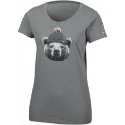 Columbia Koszulka Unbearable Tee Charcoal Heather S. Brązowe bluzki sportowe damskie Columbia, xs, z materiału, z krótkim rękawem. W wyprzedaży za 75,00 zł.