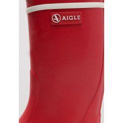 Aigle LOLLY POP Kalosze rouge. Czerwone kalosze damskie Aigle, z bawełny. Za 129,00 zł.