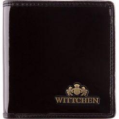 Portfel 25-1-065-1. Czarne portfele damskie marki Wittchen. Za 249,00 zł.