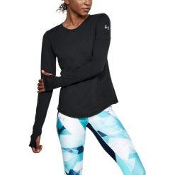 Bluzy sportowe damskie: Under Armour Bluza damska THREADBORNE SWFT LS czarna r. M (1318422-001)