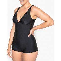 Stroje jednoczęściowe: Jednoczęściowy kostium kąpielowy z szortami, efekt płaskiego brzucha