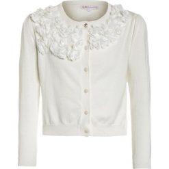 Swetry chłopięce: Patrizia Pepe Kardigan milk white