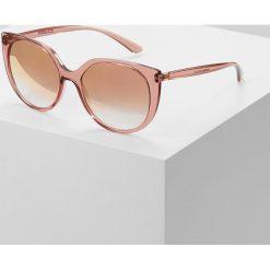 Dolce&Gabbana Okulary przeciwsłoneczne transparent pink. Czerwone okulary przeciwsłoneczne damskie lenonki Dolce&Gabbana. Za 819,00 zł.