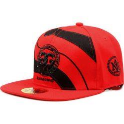 Czapka męska snapback czerwona (hx0285). Czerwone czapki z daszkiem męskie marki Dstreet, z haftami, eleganckie. Za 69,99 zł.