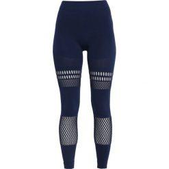 Adidas by Stella McCartney Legginsy night indigo. Niebieskie legginsy adidas by Stella McCartney, m, z elastanu. Za 499,00 zł.