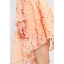 Sukienki hiszpanki: True Decadence Sukienka koktajlowa peach
