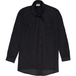 Bluzki asymetryczne: Bluzka koszulowa z wiązaniem przy szyi
