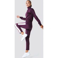 Bluzy damskie: NA-KD Trend Bluza z suwakiem – Red