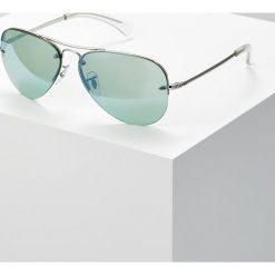 RayBan Okulary przeciwsłoneczne green flash/silvercoloured. Szare okulary przeciwsłoneczne damskie lenonki marki Ray-Ban. Za 669,00 zł.