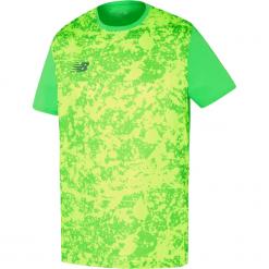 Koszulka New Balance MT710005VDC. Zielone koszulki do piłki nożnej męskie marki New Balance, m, z materiału. Za 129,99 zł.