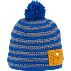 Czapka damska handmade Kieszonka niebiesko-szara (cz13104). Niebieskie czapki zimowe damskie Art of Polo. Za 36,52 zł.