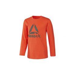 T-shirty z długim rękawem Dziecko Reebok Sport  Koszulka Boys Elements Longsleeve. Brązowe t-shirty chłopięce z długim rękawem Reebok Sport. Za 79,95 zł.