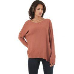 Sweter w kolorze czerwonobrązowym. Brązowe swetry klasyczne damskie marki L'étoile du cachemire, z kaszmiru. W wyprzedaży za 129,95 zł.