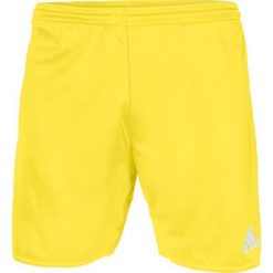 Spodenki sportowe męskie: Adidas Spodenki męskie Parma 16 żółte r. L (AJ5891)