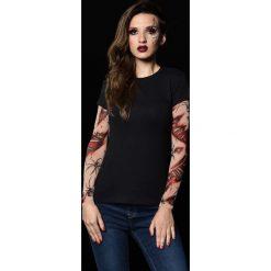 T-shirty damskie: T-shirt damski z tatuażem Bloody Spiders