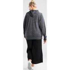 Bluzy rozpinane damskie: Nike Sportswear GYM VINTAGE HOODIE Bluza z kapturem anthracite/sail