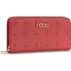 Duży Portfel Damski NOBO - NPUR-D0143-C005 Czerwony. Czerwone portfele damskie Nobo, ze skóry ekologicznej. W wyprzedaży za 89,00 zł.
