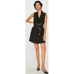 Answear - Sukienka FEMIFESTO. Szare sukienki ANSWEAR, na co dzień, l, w paski, z elastanu, casualowe, mini, dopasowane. W wyprzedaży za 179,90 zł.