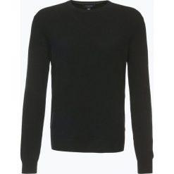 Andrew James - Sweter męski z czystego kaszmiru, czarny. Czarne swetry klasyczne męskie Andrew James, l, z dzianiny. Za 549,95 zł.