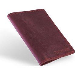 Skórzany portfel SLIM wallet BRODRENE czerwony. Czarne portfele męskie marki Brødrene, w paski, ze skóry. Za 84,90 zł.