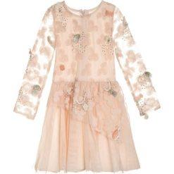 Sukienki dziewczęce z falbanami: Billieblush Sukienka koktajlowa apricot