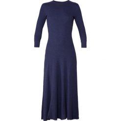 Polo Ralph Lauren DRAPEY WAFFLE Długa sukienka spring navy heather. Czarne długie sukienki marki Polo Ralph Lauren, polo. Za 629,00 zł.