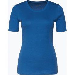 Brookshire - T-shirt damski, niebieski. Czarne t-shirty damskie marki brookshire, m, w paski, z dżerseju. Za 49,95 zł.