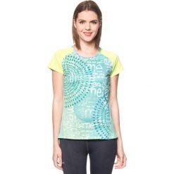 Koszulka w kolorze turkusowo-niebieskim. Niebieskie bluzki sportowe damskie Desigual Sport, s. W wyprzedaży za 130,95 zł.