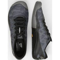 Merrell VAPOR GLOVE 3 Obuwie do biegania neutralne black/lime. Niebieskie buty do biegania damskie marki Merrell, z materiału. Za 419,00 zł.