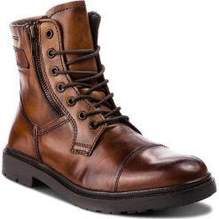 Kozaki CANGURO - A136-310 Cuoio. Czarne buty zimowe męskie marki House. W wyprzedaży za 229,00 zł.
