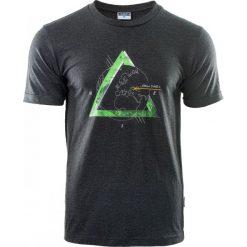 ELBRUS Koszulka męska SUMMIT Dark Grey Melange  r. L. Szare koszulki sportowe męskie marki ELBRUS, l. Za 89,99 zł.