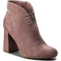 Botki JENNY FAIRY - WSG1160-1 Różowy. Czerwone buty zimowe damskie Jenny Fairy, z materiału. Za 119,99 zł.