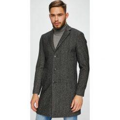 Premium by Jack&Jones - Płaszcz. Czarne płaszcze na zamek męskie Premium by Jack&Jones, l. W wyprzedaży za 399,90 zł.
