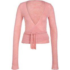 Swetry klasyczne damskie: Deha Sweter terra cotta