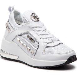 Sneakersy GUESS - FL5JUL FAB12 WHITE. Czarne sneakersy damskie marki Guess, z materiału. Za 629,00 zł.