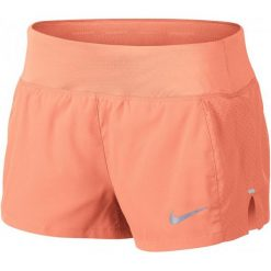Nike Spodenki Do Biegania Damskie W Nk Eclipse 3in Short, Crimson Pulse L. Czerwone spodenki sportowe męskie Nike, z materiału, sportowe. W wyprzedaży za 135,00 zł.