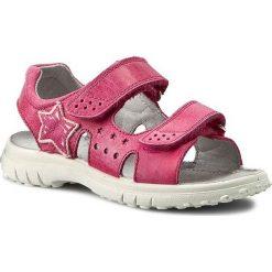 Sandały dziewczęce: Sandały NATURINO – 5675 0010502024.02.9116 Fuxia
