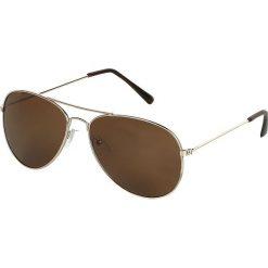 Okulary przeciwsłoneczne damskie: Pilotenbrille Goldener Schatten Okulary przeciwsłoneczne złoty