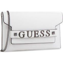 Torebka GUESS - HWWM68 76730  WHI. Białe torebki klasyczne damskie marki Guess, z aplikacjami, ze skóry ekologicznej. Za 449,00 zł.