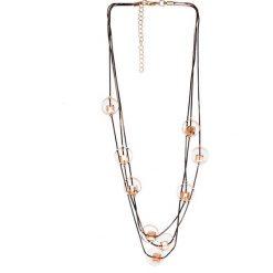 Naszyjniki damskie: Złoty naszyjnik z kryształkami QUIOSQUE